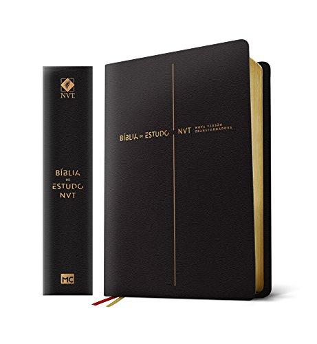 Bíblia de Estudo Nova Versão Transformadora: Capa Preta