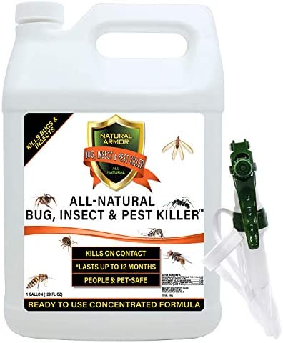 Natural Bug Insect Pest Killer Control Including Fleas Ticks Ants Spiders Bed Bugs Dust Mites product image