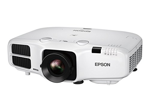 Epson V11H824020 PowerLite 5530U LCD Projector, Black/White
