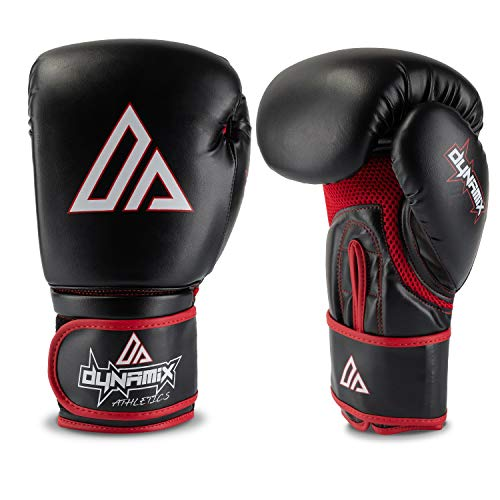Dynamix Athletics Boxhandschuhe Elevate - Boxhandschuh Boxen Kickboxen Sparring Muay Thai Martial Arts Kampfsport (12 Unzen)