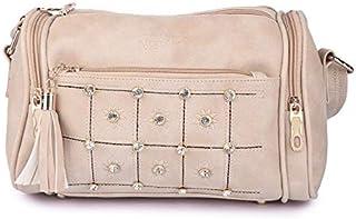 Nevis Women's Casual Black Dholki Handbag