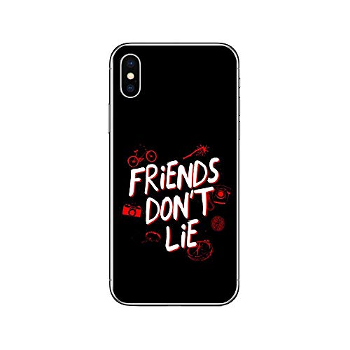 RENGMIAN Stranger Things Transparent Soft TPU iPhone Phone Case ST-343 For Funda iPhone 5 5S SE