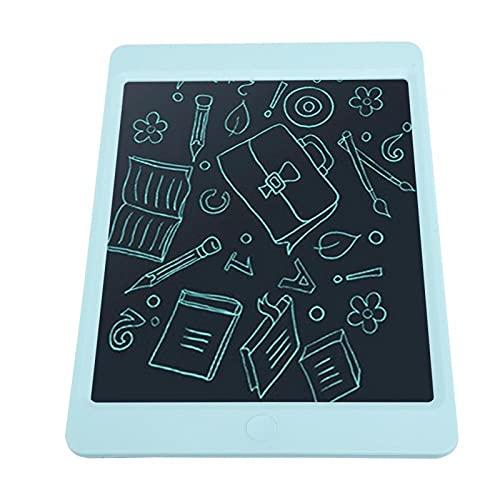 Shipenophy Tablero de Dibujo para niños de 10 Pulgadas, práctica de Escritura, Pintura Azul, Tablero de Escritura, Tableta LCD, Resistentes Funciones de borrado Dual para recordatorio de Citas