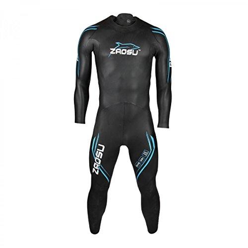 ZAOSU Herren Neoprenanzug Racing 2.0 | Flexibler Openwater Triathlon Wetsuit fürs Freiwasser Schwimmen und Wettkämpfe, Größe:L