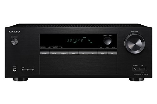 ONKYO TX-SR373 135W 5.2channels Stereo Black AV receiver - AV receivers (135 W, 5.2 channels, stereo, 0.06%, 200 mV, 106 dB)