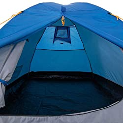 2 man capacity Waterproof Hydro fort 70D flysheet with 2000mm hydrostatic head Small front porch area ideal for keeping muddy shoes dry Strong and flexible fibreglass poles Hardwearing, waterproof sewn-in PE groundsheet