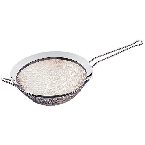 WMF Gourmet Küchensieb 22 cm, Sieb Edelstahl, Cromargan Edelstahl poliert, spülmaschinengeeignet