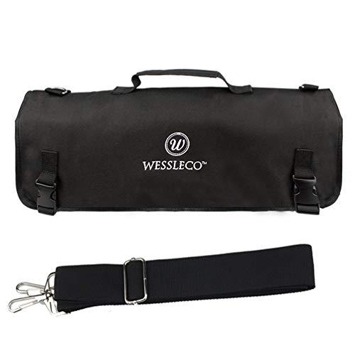 LIOOBO Kochrolle Tasche tragbare Koch Werkzeugkoffer mit Gurt Geschirr Aufbewahrungstasche Tasche zum Wandern im Freien zu Hause