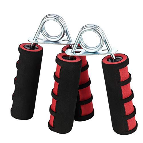 Aoliandatong 2 Pack Hand Grip Strengtheners, A Shape Foam Hand Grips Gripper Exerciser, Resistance Strength Hand Gripper Wrist Exerciser Fitness Grip Trainer