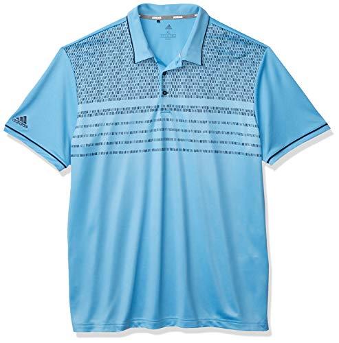 adidas Polo Core Novelty para hombre - TM1548F20, polo core novelty, M, Azul claro