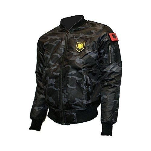 Zoonamo - Albanien Camo Bomber Jacket (M)