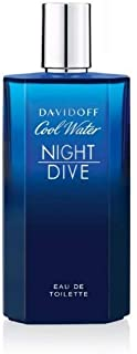 Davidoff Cool Water Night Dive Eau De Toilette, 4.2 oz.