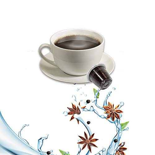 10 Kapseln Nespresso Kaffee Kompatibel Sambuca Kaffee - Hergestellt in Italien - Kickkick Kaffee
