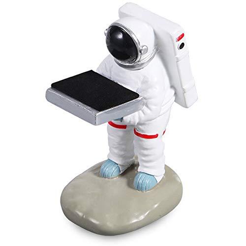 ZHURGN Caja de almacenamiento de mesa, titular de gafas creativas, almacenamiento de relojes, stand creative spaceman Design Watch Stand, Organizador de regalo de Jeweley para la oficina en casa (Spac