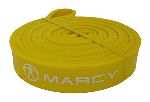 Marcy de artículos para fitness, Body Building, workout, Home y entrenamiento de fuerza & Agility Power Band Talla:ligero (amarillo)