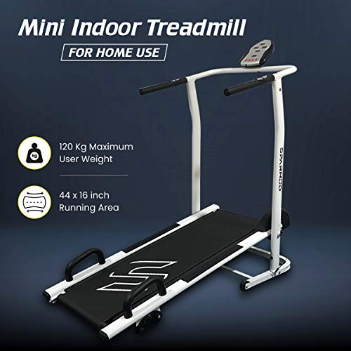 Sparnod Fitness STH-500 Manual Treadmill