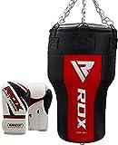 RDX Uppercut Sacos De Boxeo Bolsa MMA SIN LLENAR Ángulo Cuerpo Saco Pesado Pared Kick Boxing Muay Thai
