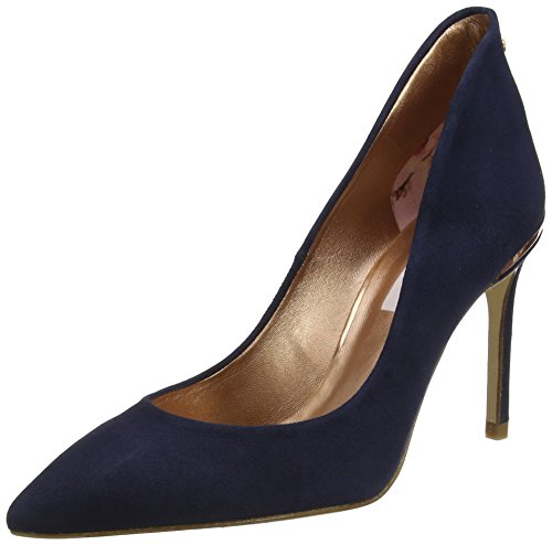 Ted Baker Damen Savio 2 Pumps, Blau (Navy #0000ff), 39 EU