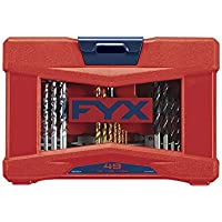FYX 49-Pieces Ultimate Household Drill and Drive Mixed Set