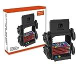 PeakLead Soporte Almacenamiento Juego de la Torre para Nintendo Switch Games Storage Tower Stand para Switch Consola Dock Set, Mando Joy-con, Pro Controller, Tarjeta, Auriculares Gaming Accesorio