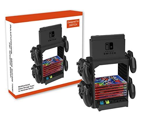 PeakLead Soporte Almacenamiento Juego de la Torre para Nintendo Switch Games Storage...