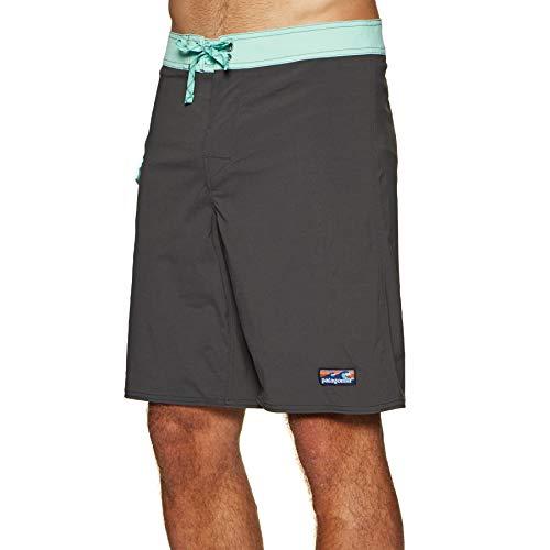 Patagonia Herren M's Patch Pocket Stretch Wavefarer Boardshorts-20 in. Kurze Hose, schwarz (Ink Black), 32