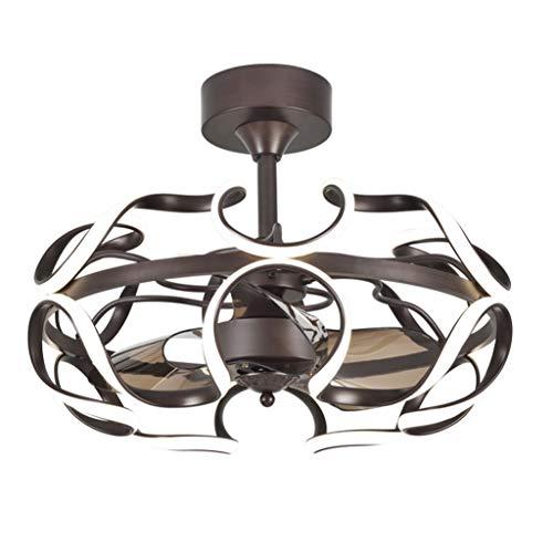 Duoer Home Plafondventilator, restaurant, fan licht, plafondventilator, voor woonkamer, slaapkamer, met plafondventilator, licht met airconditioning, plafondventilator, licht