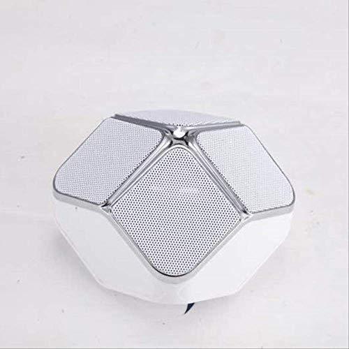 Mirage USB Woofer Subwoofer-TF-Karte Music Center drahtloser beweglicher Heimkino-Bluetooth-Lautsprecher PC-Lautsprecher Schwarz (Color : White)