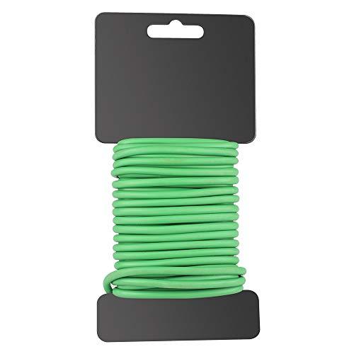 4,8mm x 8 m Vert Plante Twist Tie Jardin souple Cravate recouvert de plastique