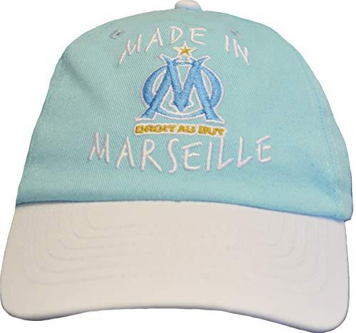Collection officielle Olympique de Marseille Bonnet B/éb/é gar/çon OM Puericulture Football Ligue 1