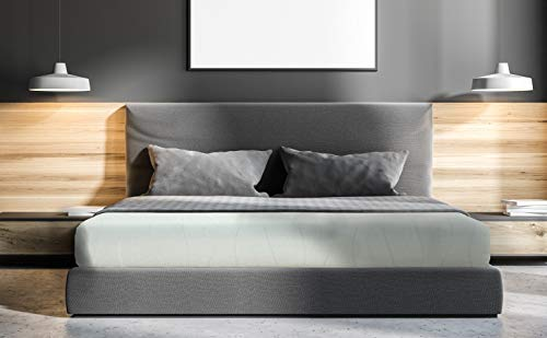 IRVINE HOME COLLECTION California King Size 8-Inch, Gel Memory Foam Mattress, Medium Firm Feel, Breathable, Cool Sleep and Pressure Relief, CertiPUR-US Certified, Temperature Balanced (1500CK)