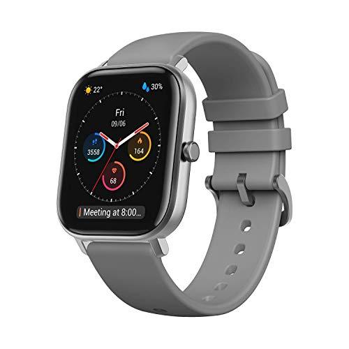 Amazfit GTS Smartwatch Orologio Intelligente Fitness 5 ATM Impermeabile Durata Batteria Fino a 14 Giorni con GPS, 12 Modalità di Sport, Display del Quadrante in Vetro 3D Contapassi per Sport