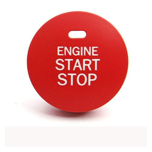 Crying Coche Interior Accesorios Estilo Start Start Stop Engine Cubierta de Encendido Botón Auto Botón Ajuste para Subaru BRZ Impreza XV Forester Outback (Color Name : Model A)