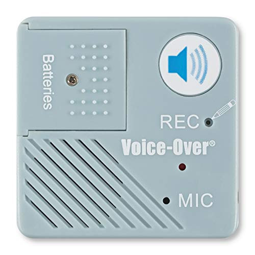 Voice Express Voice-Over Voice Recorder for Picture Frames, Books, Blankets, Quilts, Albums, and Scrap Books for Personal Message Playback