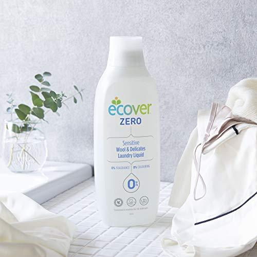 おしゃれぎ用洗剤肌に優しいecoverエコベールゼロ液体本体(無香料・無着色)1000ml洗濯洗剤海外赤ちゃんlaundry日用品マスク洗剤