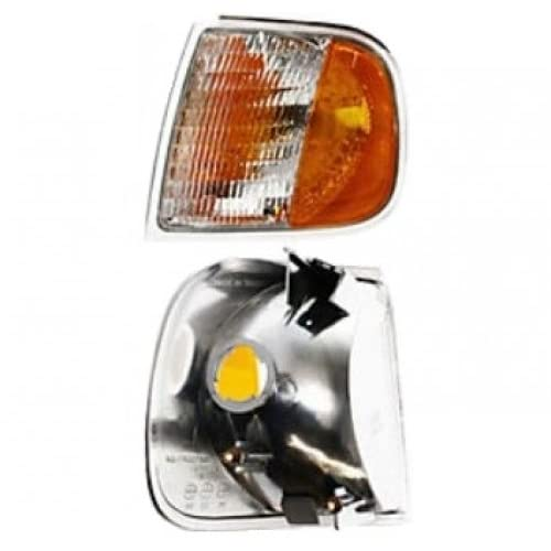 CarPartsDepot 97-03 FORD F150 LARIAT XL XLT CORNER TURN SIGNAL LIGHT LAMP LEFT LH