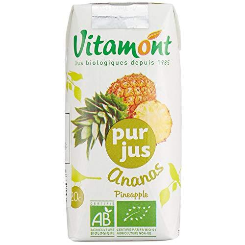 Vitamont Zumo Piña S/A, Brick 220 ml