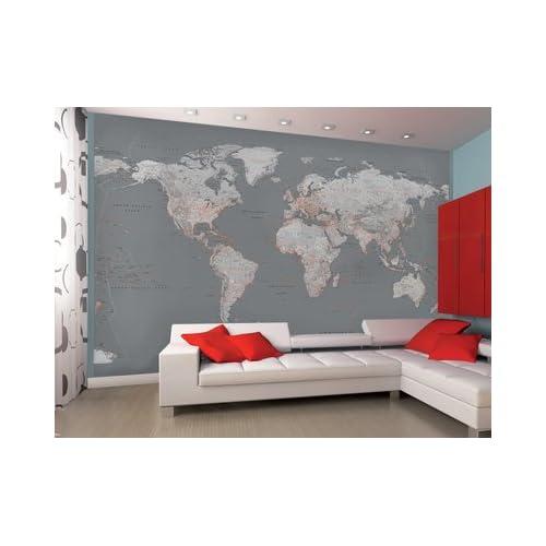 Map Wallpaper Amazon Co Uk