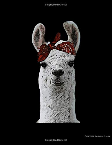Gangster Bandana Llama: Cute & Adorable Gangster Bandana Llama Thug Lama 2020-2024 Five Year Planner & Gratitude Journal - 5 Years Monthly Calendar & Thankfulness Reflection With Stoic Stoicism Quotes
