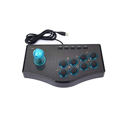 Compatible avec la manette de jeu | Pour Ps3 Computer Pc Gamepad Engineering Design Gaming Console 3 In 1 Usb Wired Game Controller Arcade Fighting Joystick Stick--