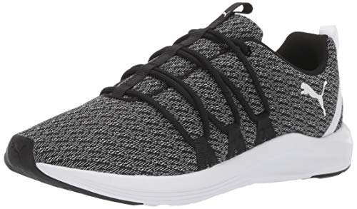 PUMA Women's Prowl ALT Sneaker, Black White, 9 M US