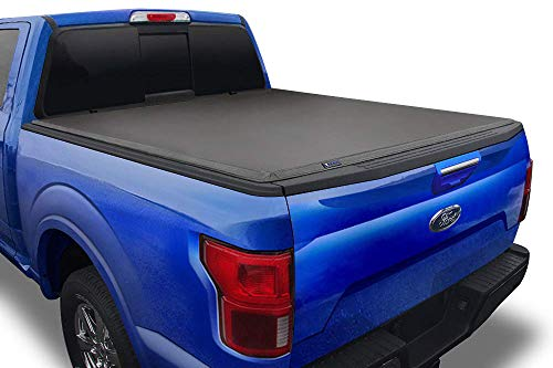 """Tyger Auto T3 Soft Tri-Fold Truck Bed Tonneau Cover Compatible with 2015-2021 Ford F-150 