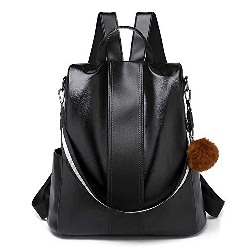 Classic Female Backpack Fashion Casual Women Leather Back Pack Cross Shoulder School Bags