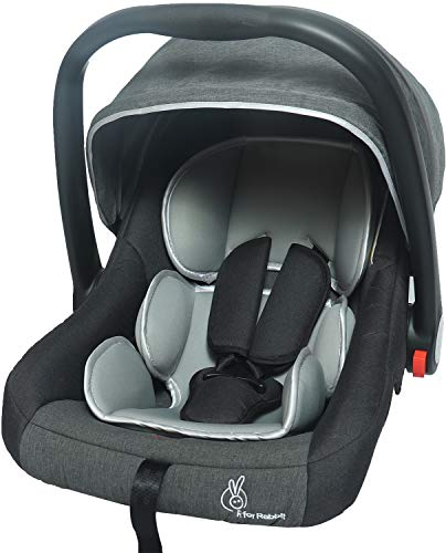 R for Rabbit Picaboo - Infant Car Seat Cum Carry Cot (Grey)