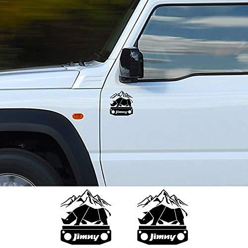 HLLebw Auto Adesivi Decorativi per Gonna Adesivi, for Suzuki Jimny