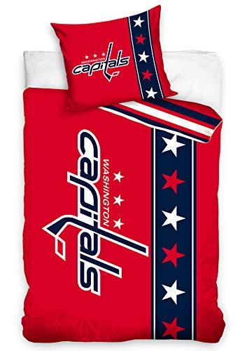 Official Merchandise Bettwäsche NHL Washington Capitals Belt, 140x200 + 70x90 cm