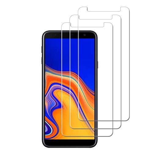 HongMan [3 Stück] Panzerglas Folie für Samsung Galaxy J4 Core Schutzfolie, Bildschirmschutzfolie Mit Frei von Fingabdrücken & Öl, 9H Festigkeit, 0,26mm Ultra-klar, Anti-Bläschen, Anti-Kratzen