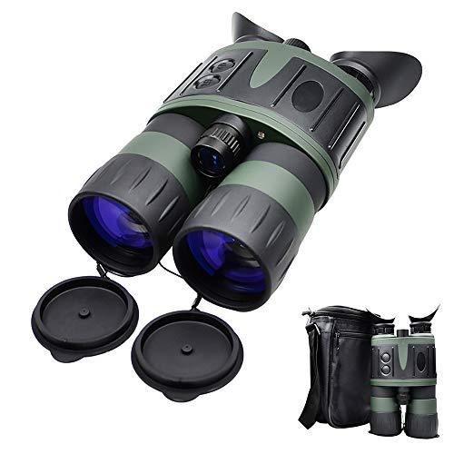 SSeir 5X50 Digital Nachtsicht Fernglas, Tragbar HD Fernrohr Infrarot Blendschutz Für Wild Lebende Tiere Tag-Und Nacht Patrouillieren