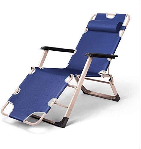 Inicio Equipamiento Sillones reclinables plegables Camas de playa de gravedad cero ajustables para acampar al aire libre Pesca en el césped Playa Sol césped Jardín Lounge Camp Lounge Chair B 178X52