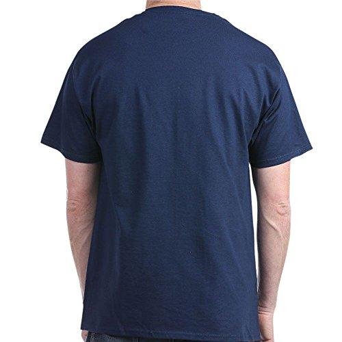 CafePress Lizard King 1971 Doors Rock Dark T Shirt 100% Cotton T-Shirt Navy